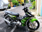 YAMAHA JUPITER MX135 CC 2009 BLACK N GREEN