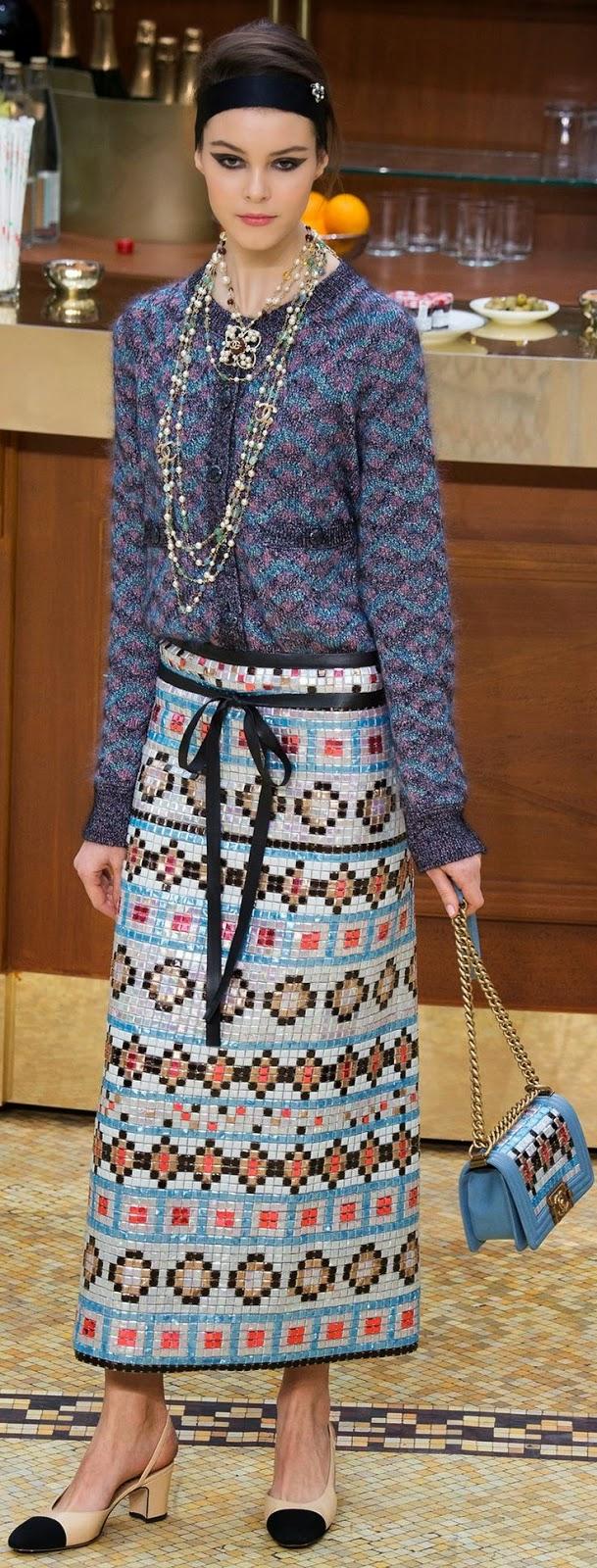 Desejo do dia Chanel - Colecção Inverno 2015-2016