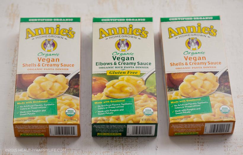 annies organic mac and cheese