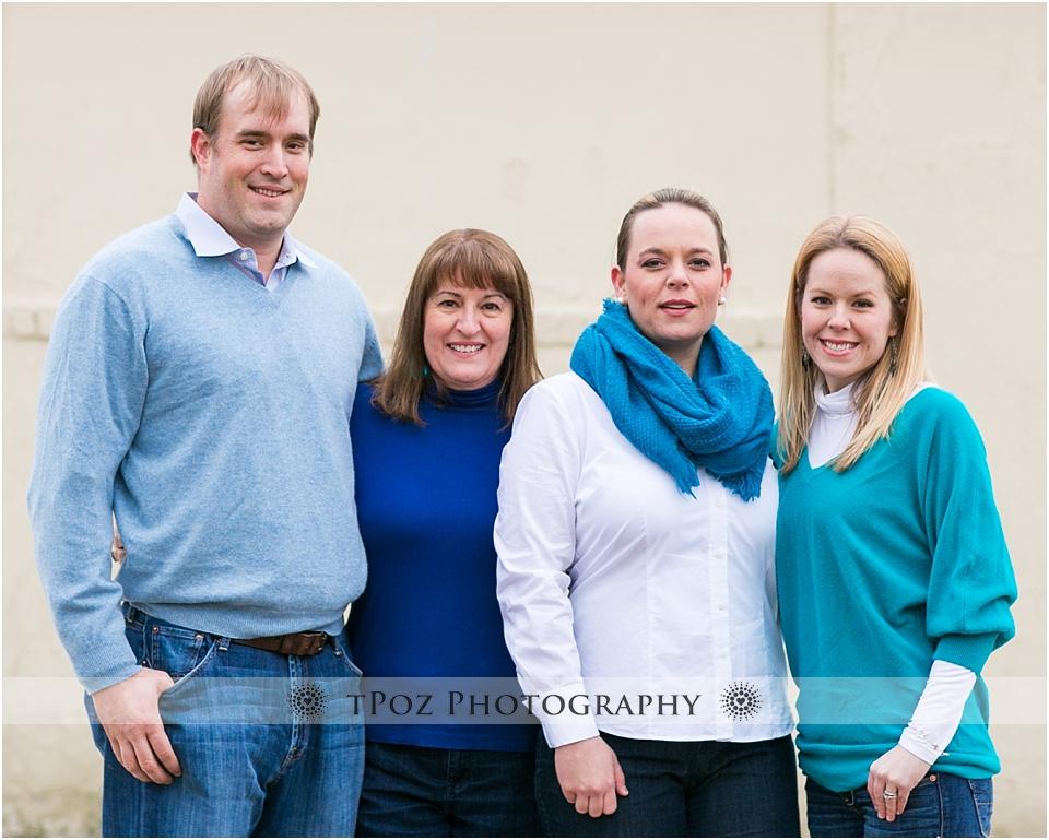 Riverside Park Baltimore Family Portrait