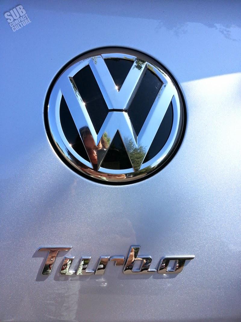 2014 VW Beetle R-Line Badge