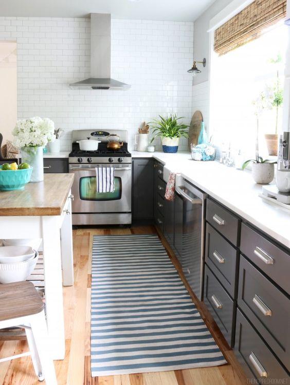 La alfombra para una cocina de verano mi casa es feng for Alfombra vinilo cocina