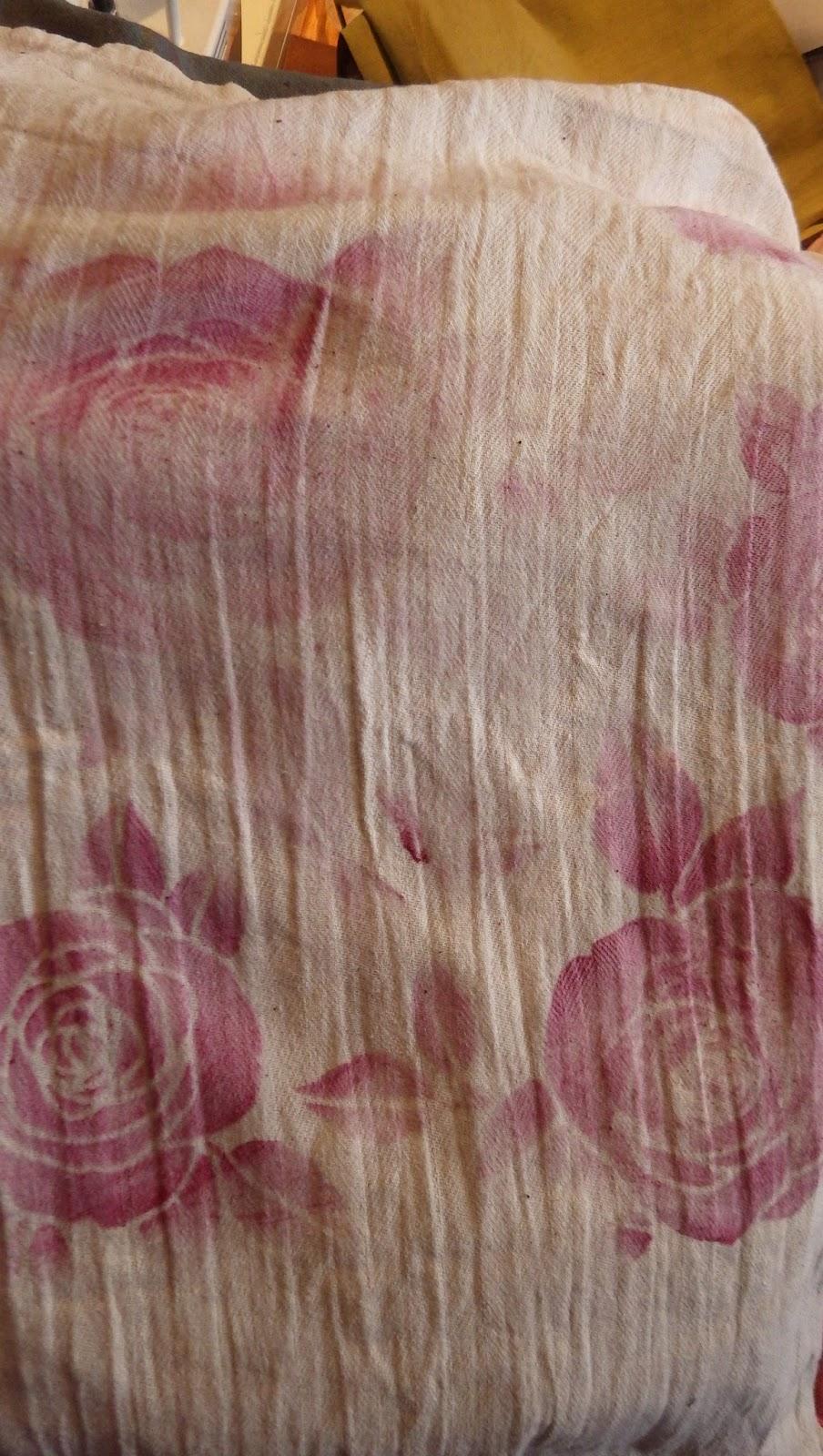 tinistaschen schablonendruck und artist paintstix rosen. Black Bedroom Furniture Sets. Home Design Ideas