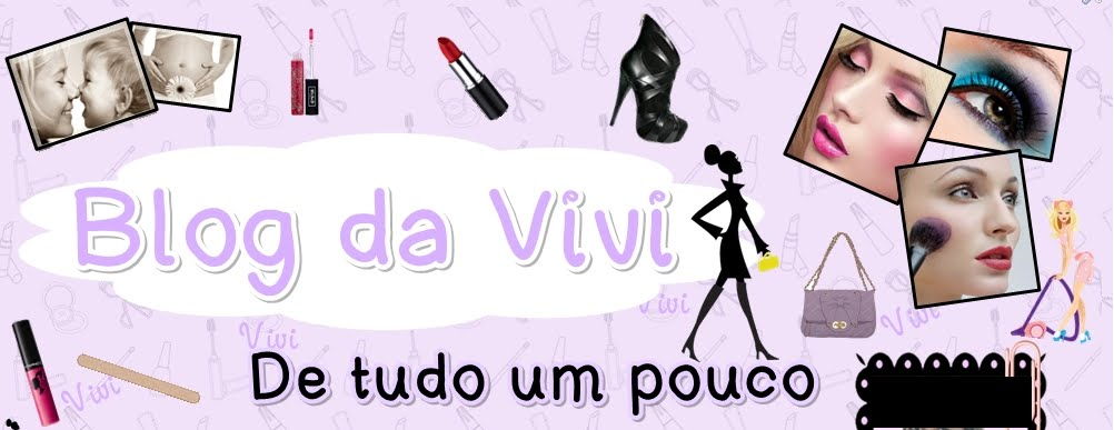 Blog da Vivi - De tudo um pouco e Meu Blog de Receitas Favoritas