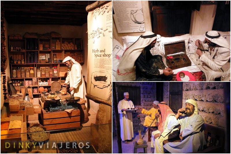 Dubai Museum. Dioramas