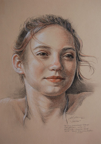 Pencil sketches of children beautiful sierra