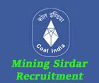 eastern coalfields limited recruitment 2015 mining sirdar