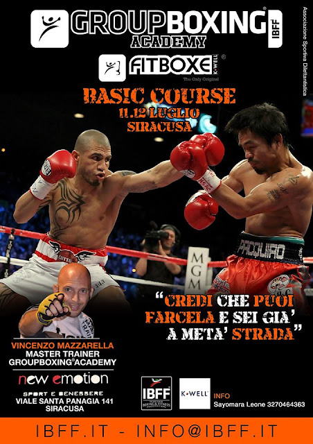 GB® FitBoxe® BASIC Course Sicilia, 11.12 Luglio, Siracusa