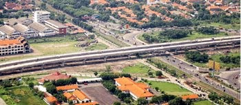 Toll Road Waru-Juanda Surabaya, Indonesia