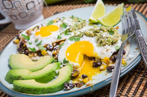 ... Bean Huevos Rancheros with Roast Zucchini Salsa on Closet Cooking