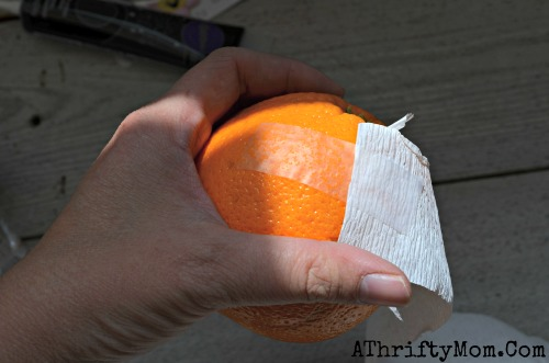 PAP 01 - Como fazer Laranjas Múmias - DIY Halloween