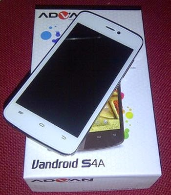 Spesifikasi dan Harga Advan Vandroid S4A | Android Jellybean 800 Ribuan