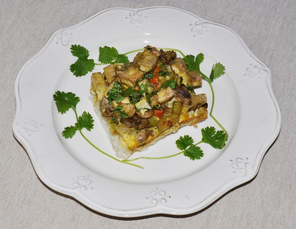 Tofu and vegetable