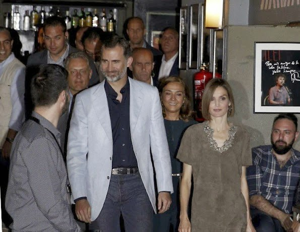 King Felipe And Queen Letizia Attend The Final Of The Science Monologue Contest