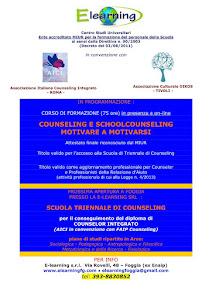 2013/2014 PROSSIMA APERTURA CORSI  A.I.C.I. COUNSELING A FOGGIA
