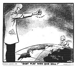 david low. nene ¿ juegas con la pelota? 9 de agosto de 1945. evening standard