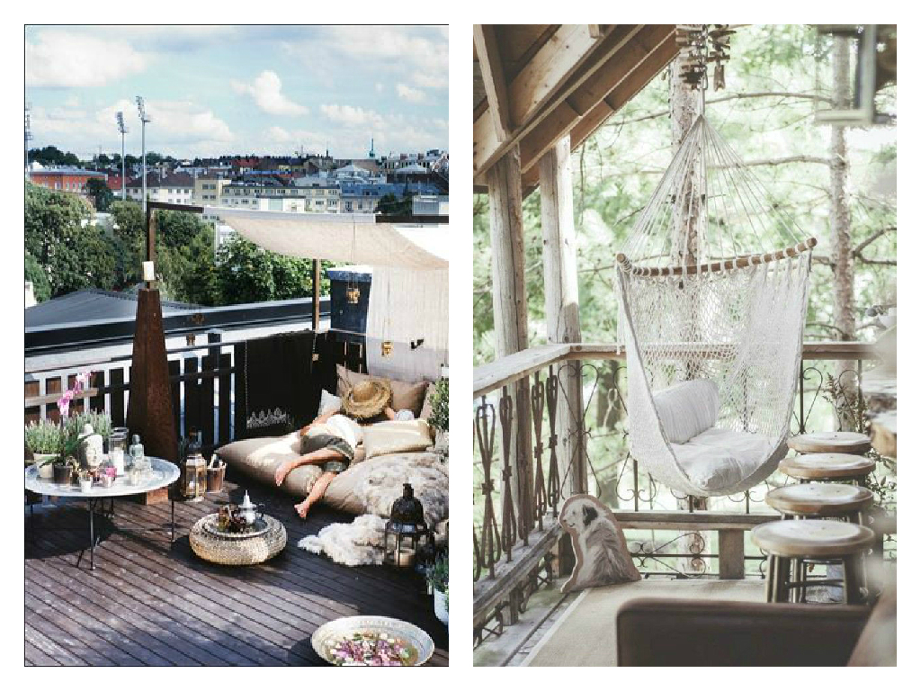Boho garten und balkon deko inspiration the mermaids candy for Deko inspiration
