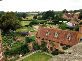 Sissinghurst view from the tower