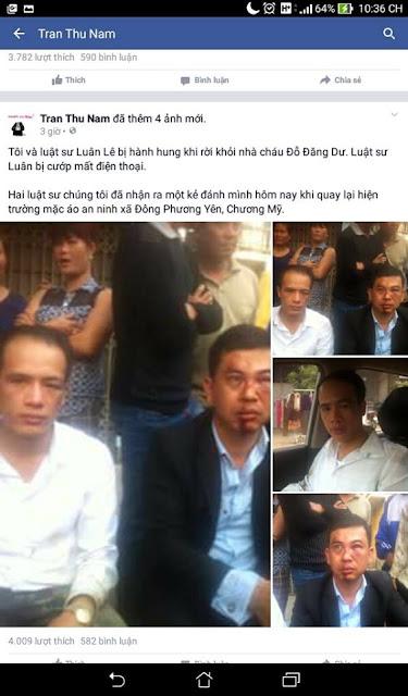 Mạn đàm về động cơ của 2 vị luật sư Trần Thu Nam và Lê Văn Luân