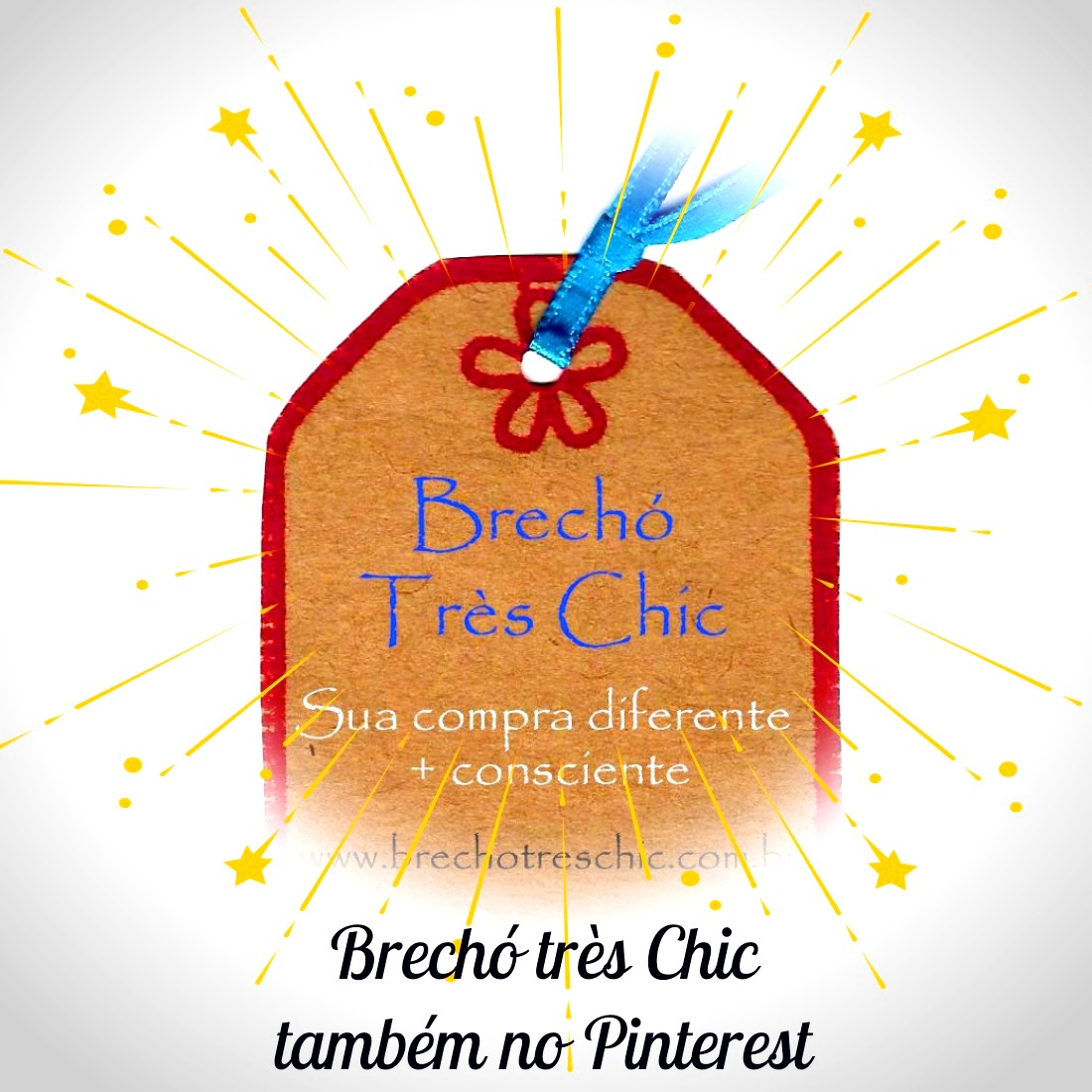 Brechó Très Chic no Pinterest