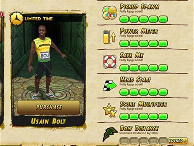 Temple Run 2 - USAIN BOLT (NEW CHARACTER) - Part 9 (iPhone ...
