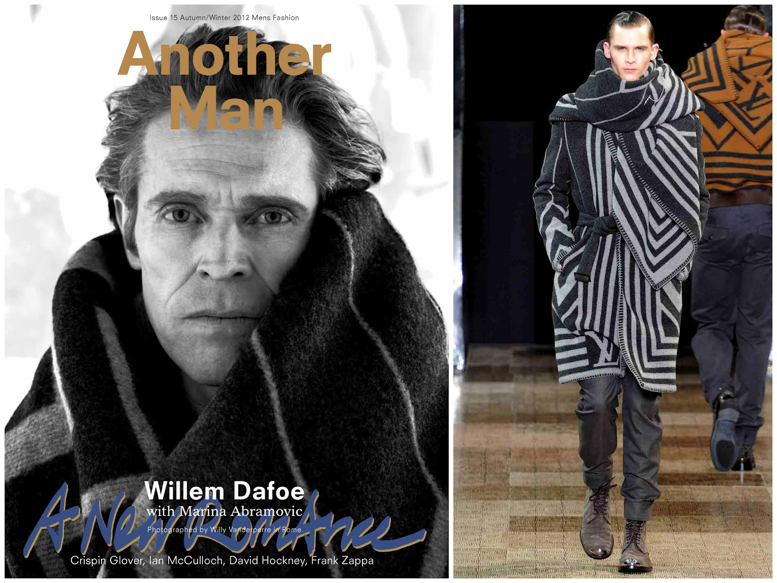 00O00 London Menswear Blog Willem Dafoe Louis Vuitton Another Man Magazine