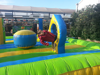 photo of bouncy castle