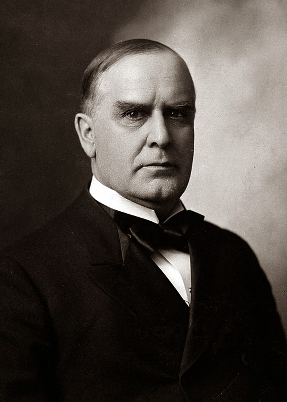 william mckinley Some american presidents have their faces on currency, some get memorialized in films and sketches then there are the others, whose all-but-forgotten names are unceremoniously attached to middle.