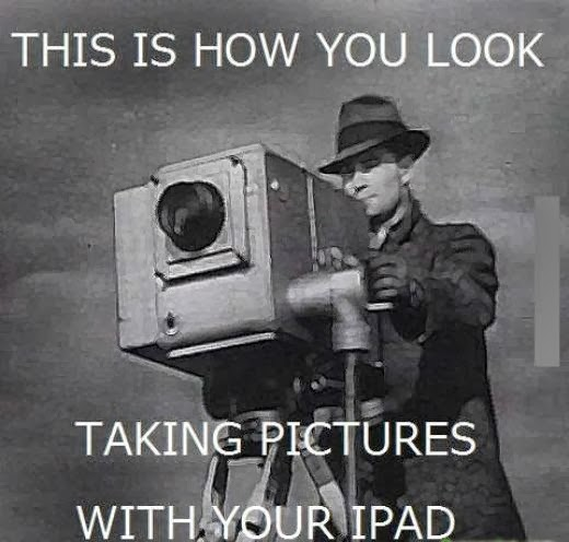 takeing pictures with your ipad
