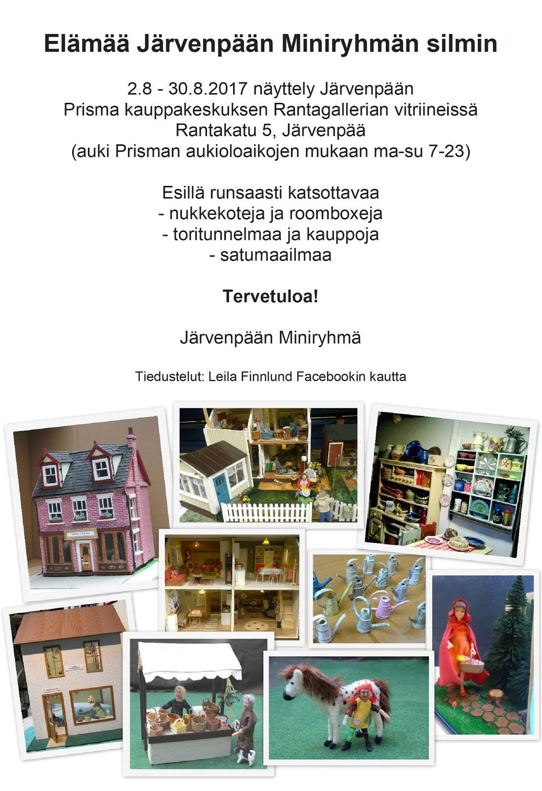 Näyttely 2.-30.8.2017