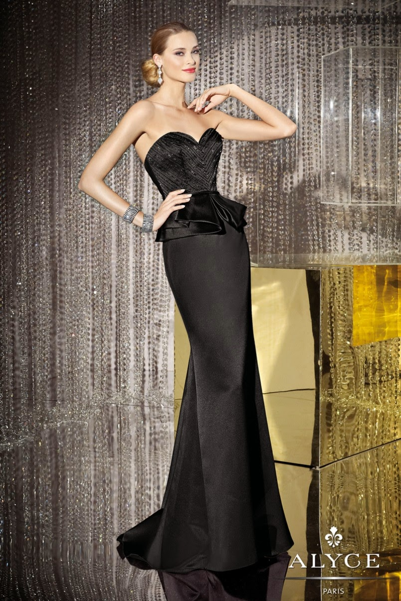 Mother of the Bride Dresses - Strapless sweetheart neckline satin long dresses with ruffled waist