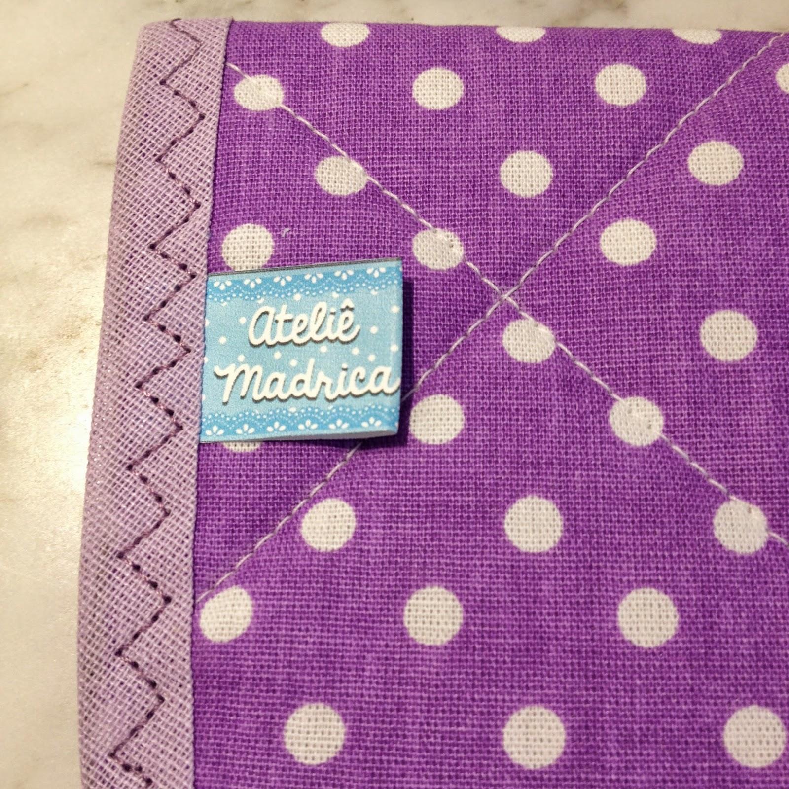 Porta absorvente de tecido by Ateliê Madrica
