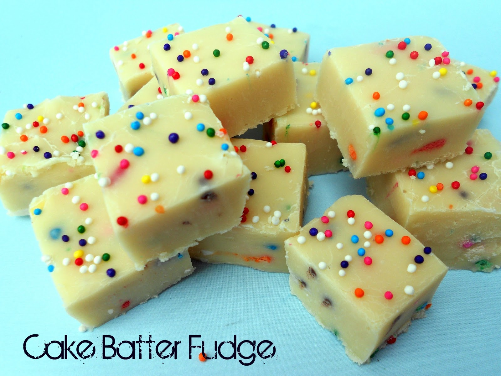 White Chocolate Cake Batter Fudge Recipe Six Sisters Stuff Six