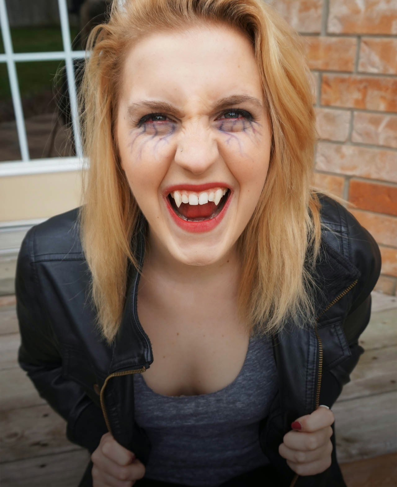 theDIYdiary: Vampire Diaries Halloween Tutorial