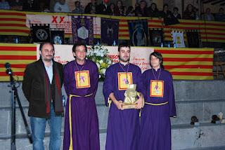 Ganadores concurso de tambores y bombos 2012