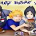 Feliz aniversário Sasuke