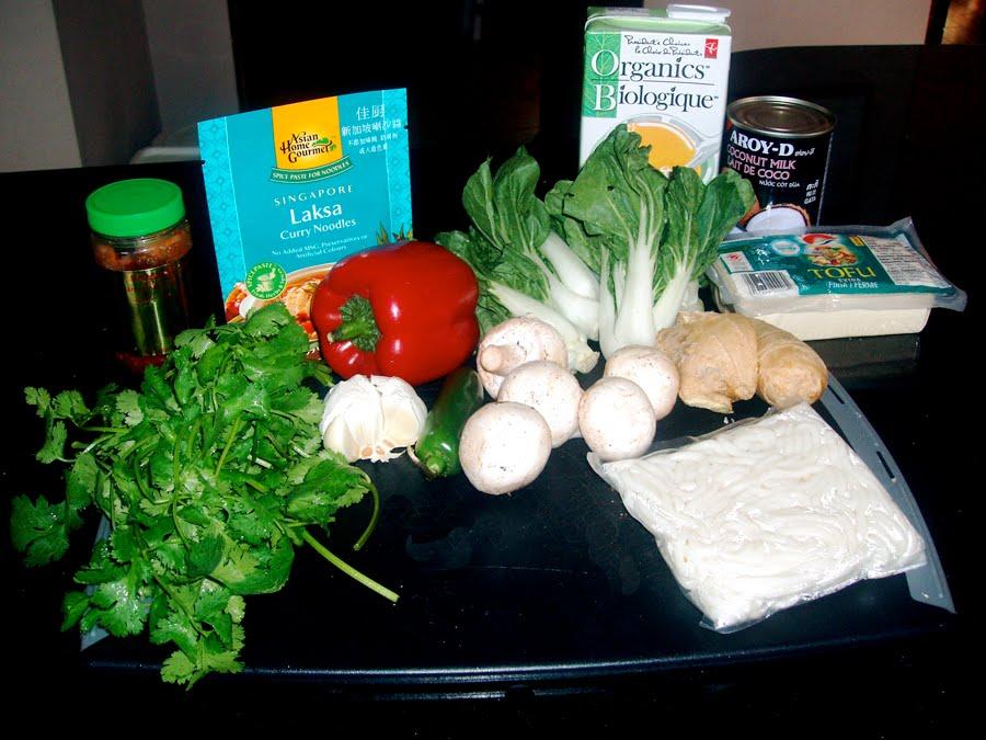 laksa plant. laksa soup recipe.