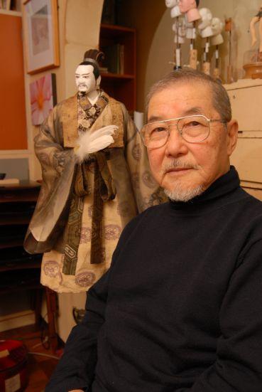 คิฮาชิโร่ คาวาโมโต้ ผู้ออกแบบหุ่นกระบอกขงเบ้ง
