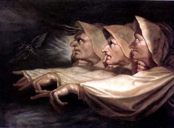 the use of witches in macbeth a play by william shakespeare The three witches appear together throughout the play and generally portend dire events the number three in shakespeare's macbeth introduction to songs of experience by william blake.