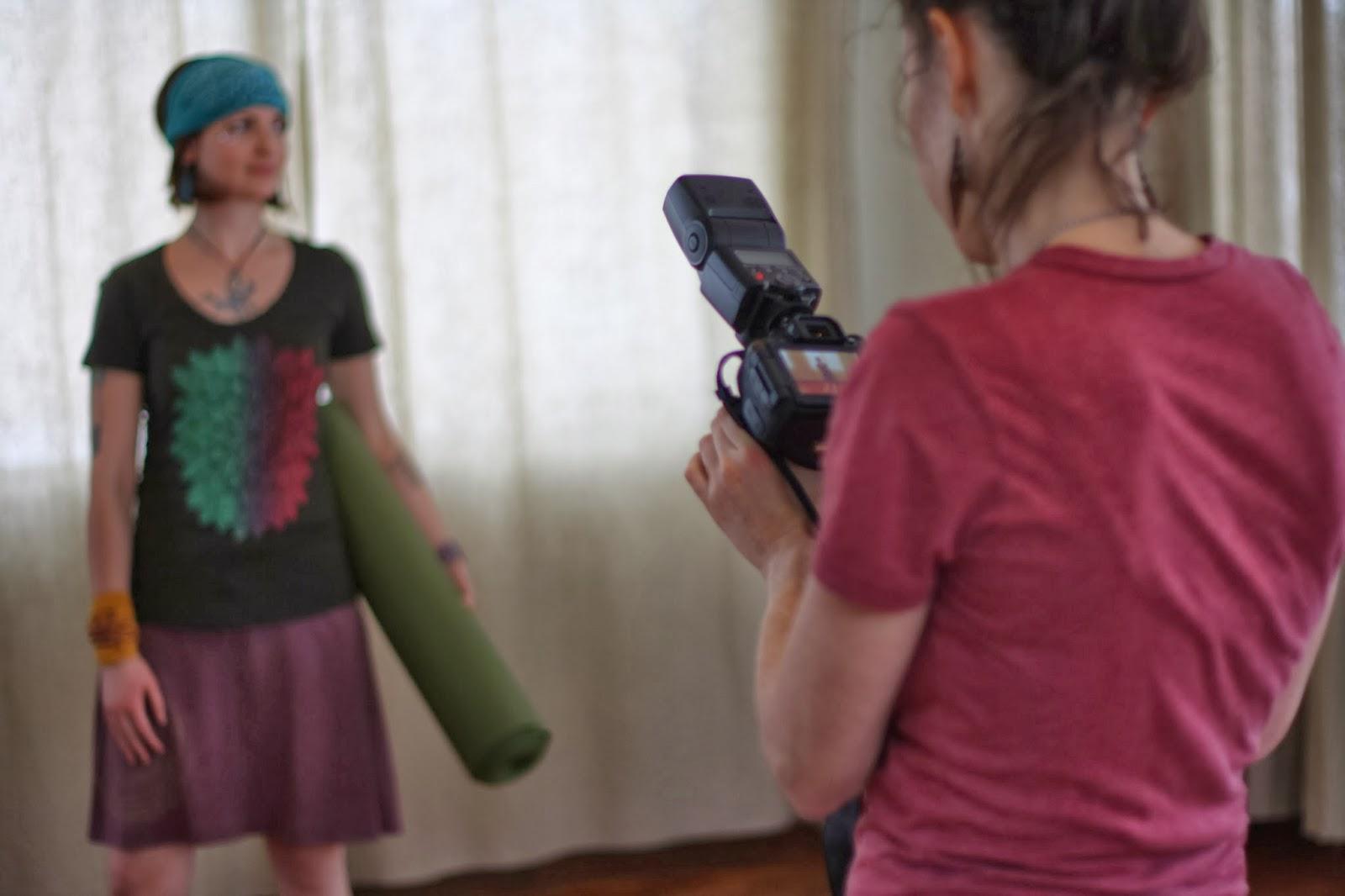 soul+flower+yoga+lookbook - Yoga Shoot: Behind the Scenes
