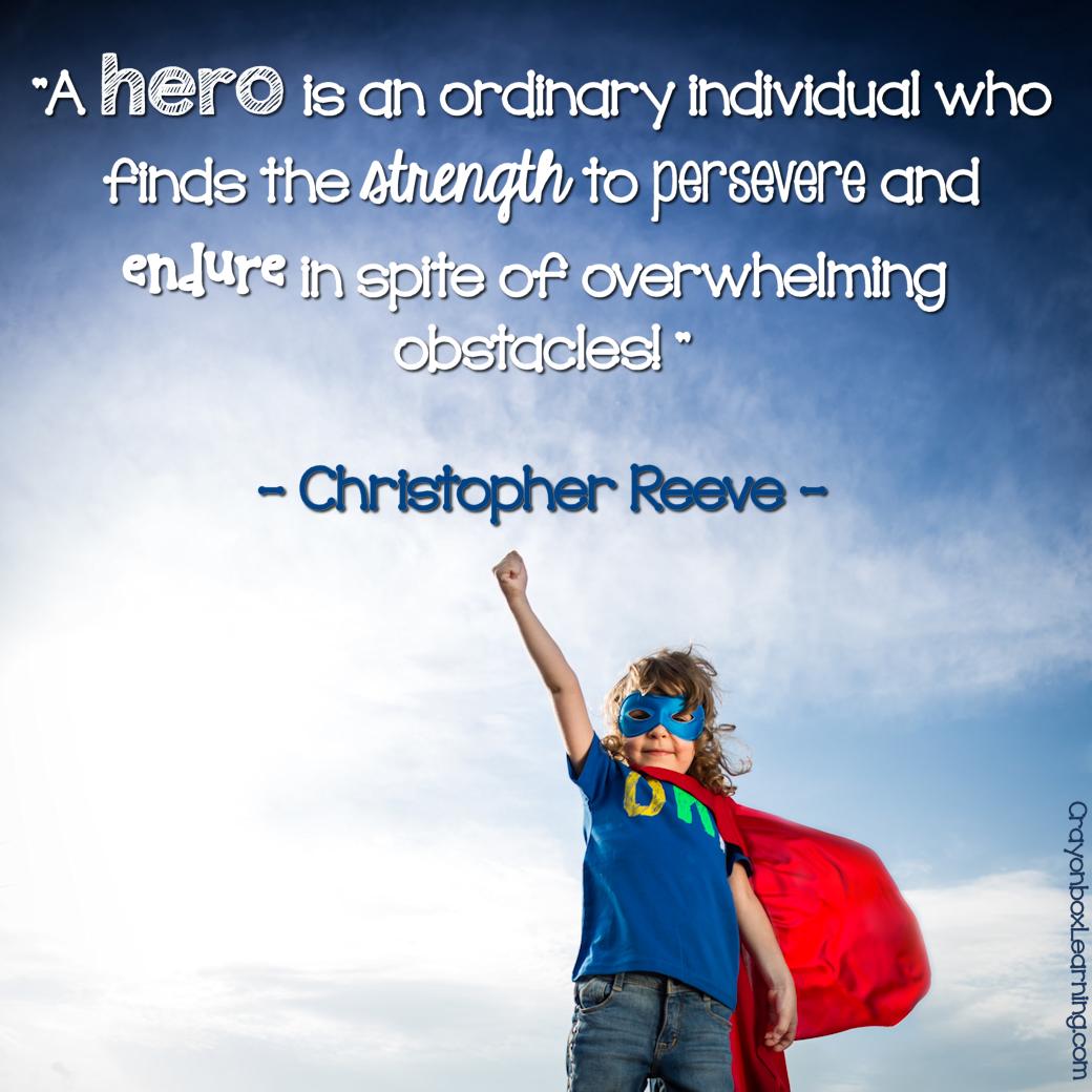 Hero Quotes 100  Quotes Regarding Hero   Free Brush Lettered Quote Www