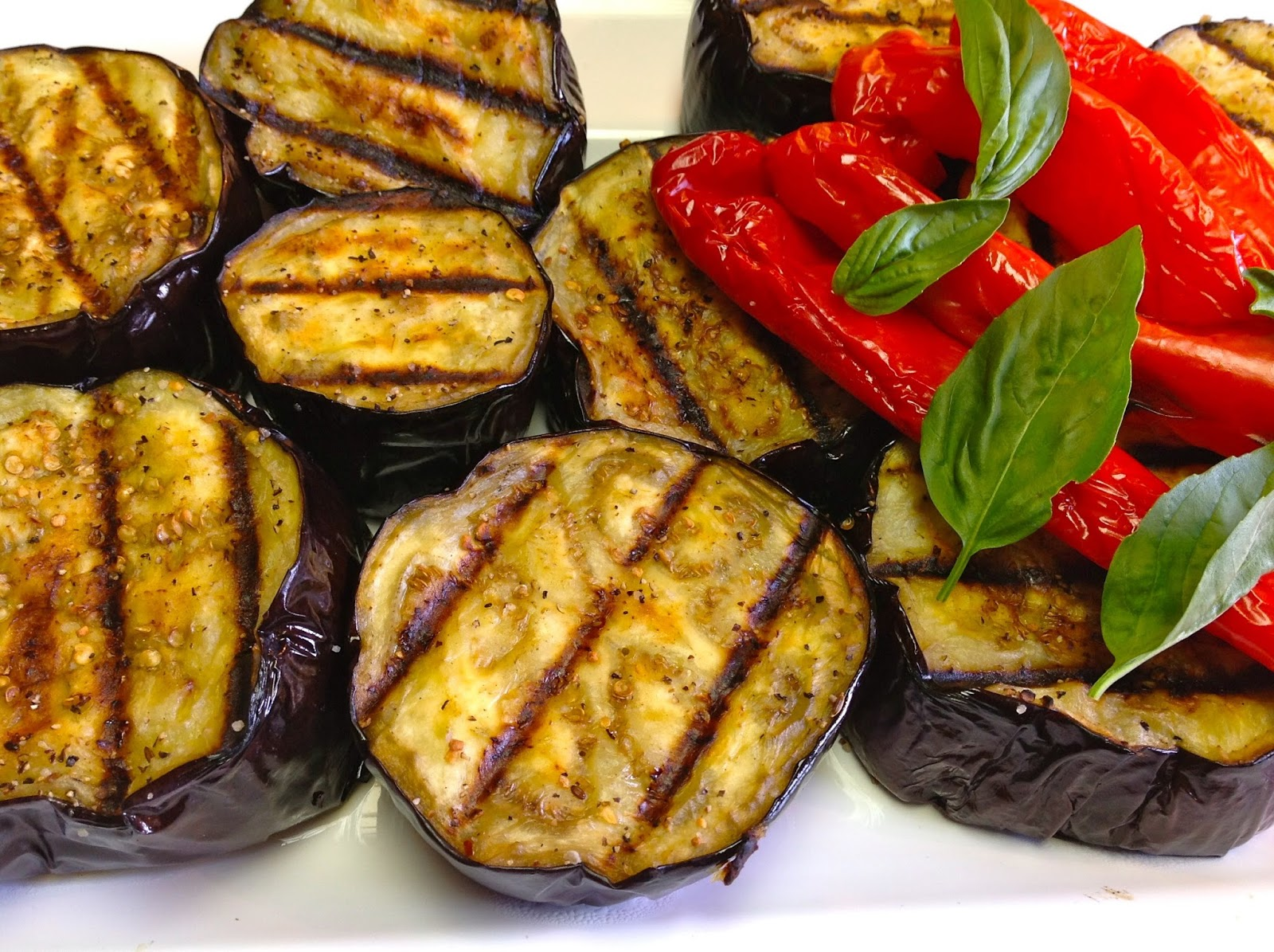 recettes de la semaine aubergines barbecue bbq. Black Bedroom Furniture Sets. Home Design Ideas