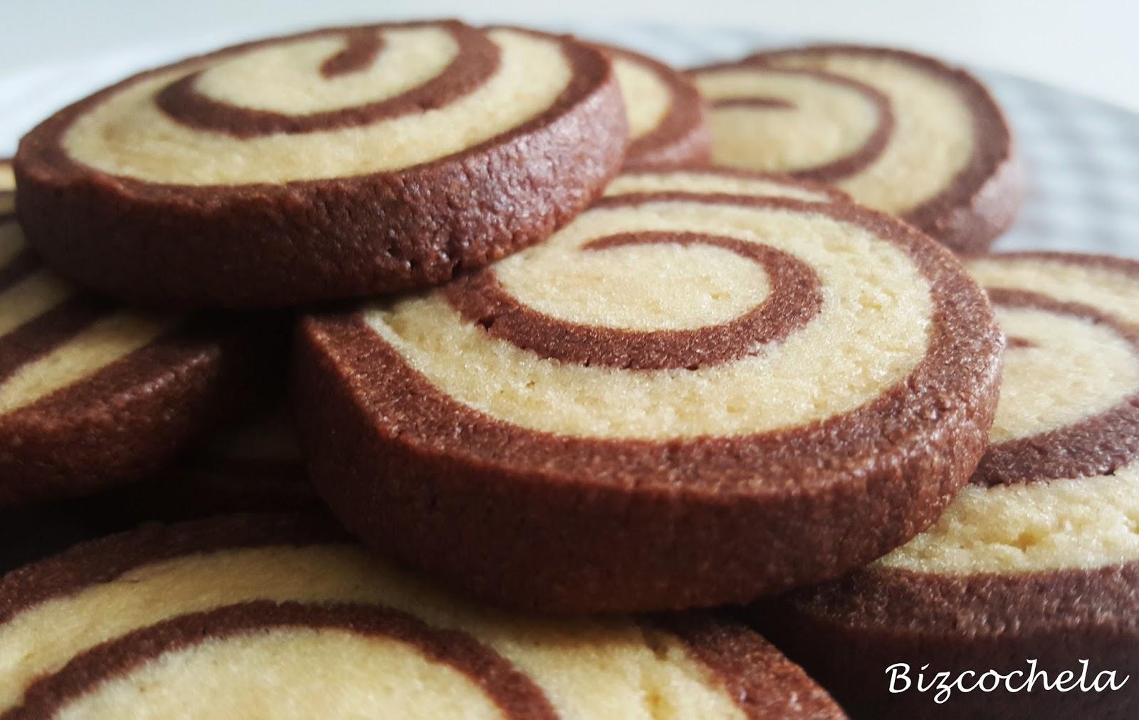 Recetas y a cocinar se ha dicho galletas espiral de for Recetas facilisimo