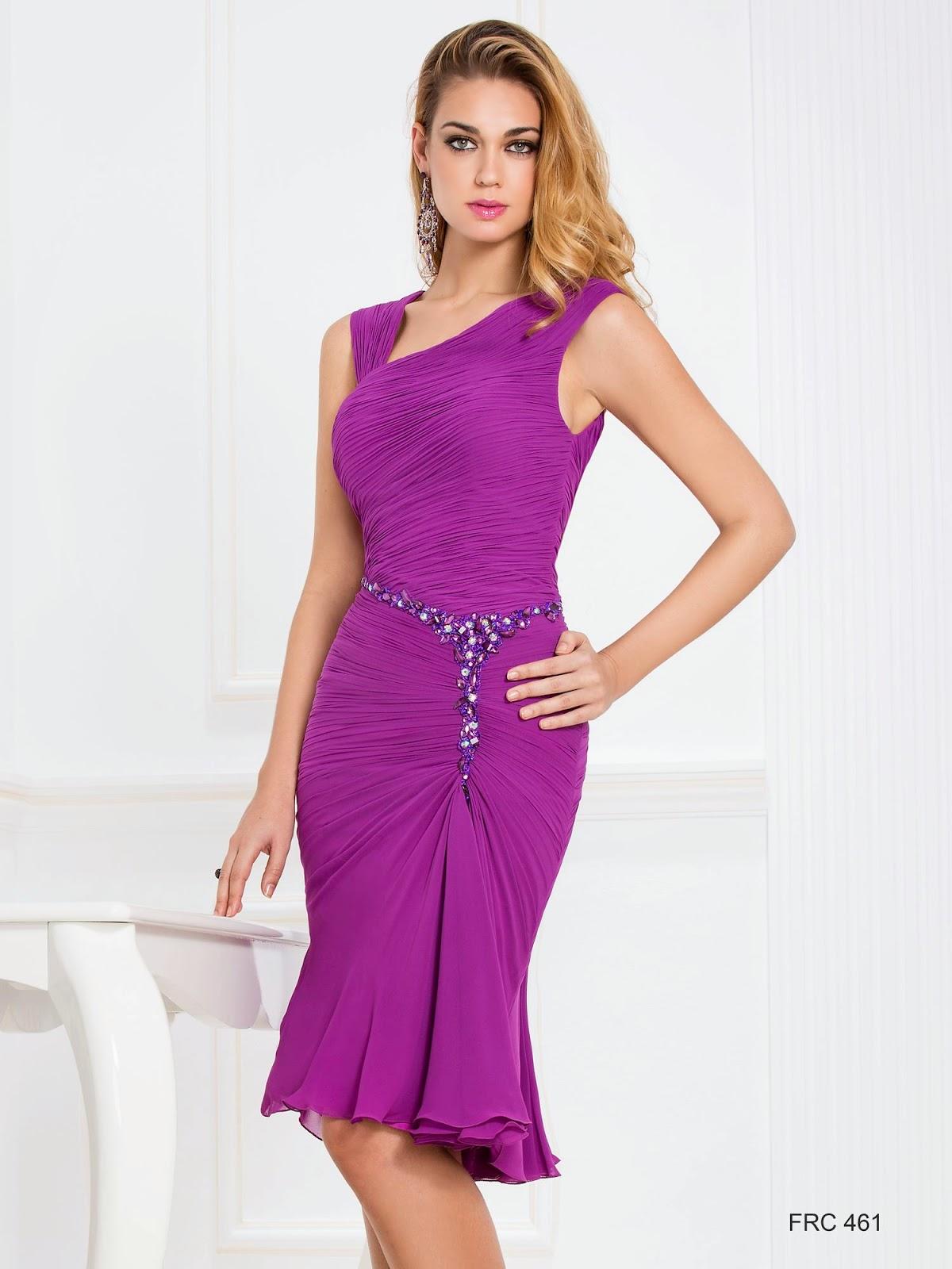 vestidos de coctel cortos para bodas y comuniones de mañana ...