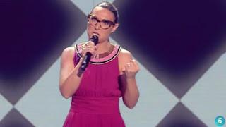 Raquel canta Chandelier-La Voz 2015 Semifinales