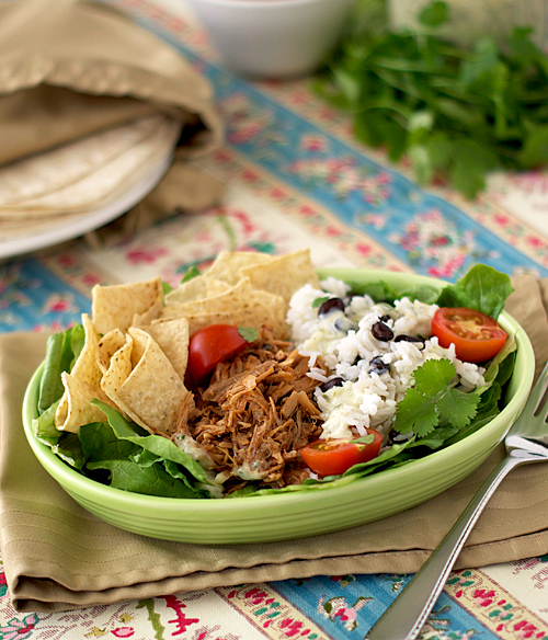 Slow Cooker Sweet Barbacoa Pork ~ Heat Oven to 350