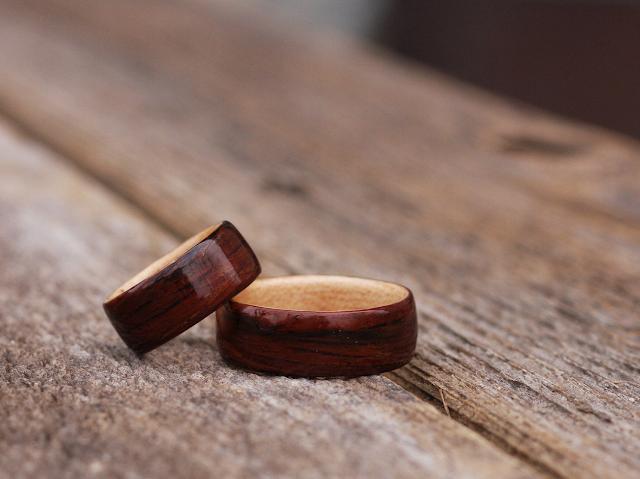 Deliving blog: Anillos de madera, joyas handmade