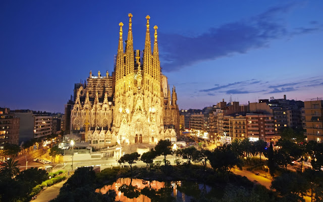 Tempo de avião a Barcelona