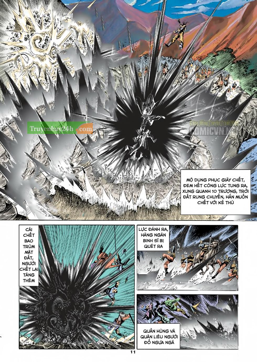 Thiên Long Bát Bộ chap 100 - Trang 12