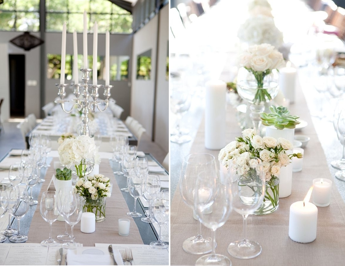 Favorite wedding theme for reception looks steves decor if both of you are less is more couple when approach to decorating this theme will suit you better find the best venue then ask your decoration vendor junglespirit Images